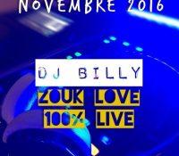 Zouk Love – Nov 2016 by djbilly972