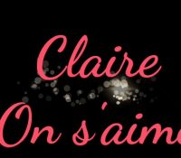 Claire – On s'aime