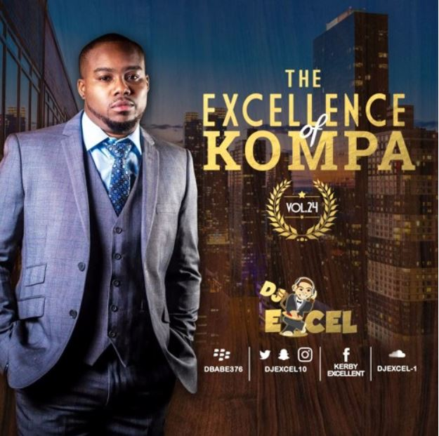 DJ EXCEL - THE EXCELLENCE OF KOMPA VOL.24 sur Caribbean-Music.net.