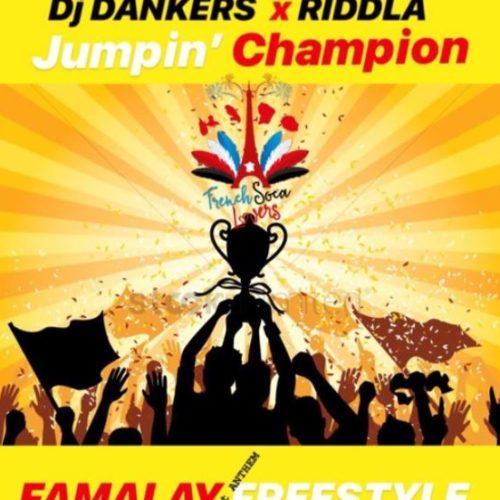 """Venez découvrir ce nouveau clip soca de 2019 : """"Dj Dankers x RIDDLA - JUMPIN CHAMPION ( FAMALAY FREESTYLE )"""" sur Caribbean-Music.net."""