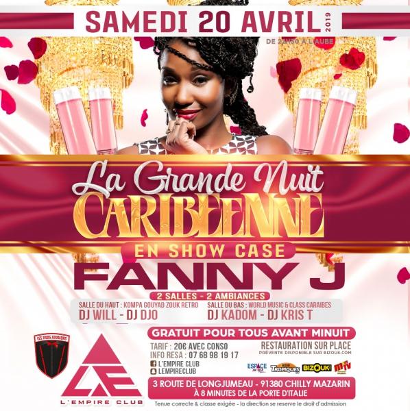 La Grande Nuit Caribéenne avec Fanny J