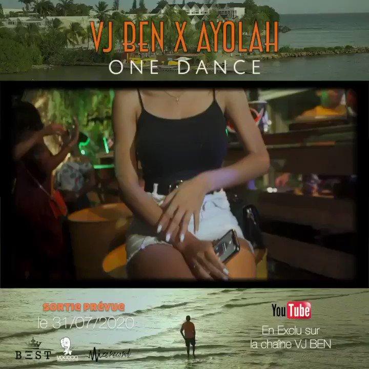 Nouveau Clip Dancehall de 2020 - Vj Ben Ft. Ayolah - One Dance