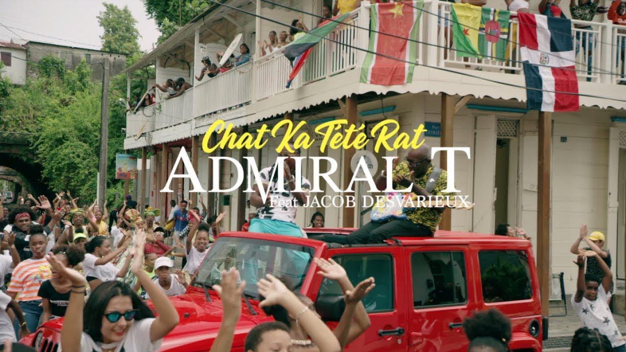 Nouveau Clip Caribéen de 2020 - Admiral T Ft. Jacob Desvarieux - Chat ka tété rat