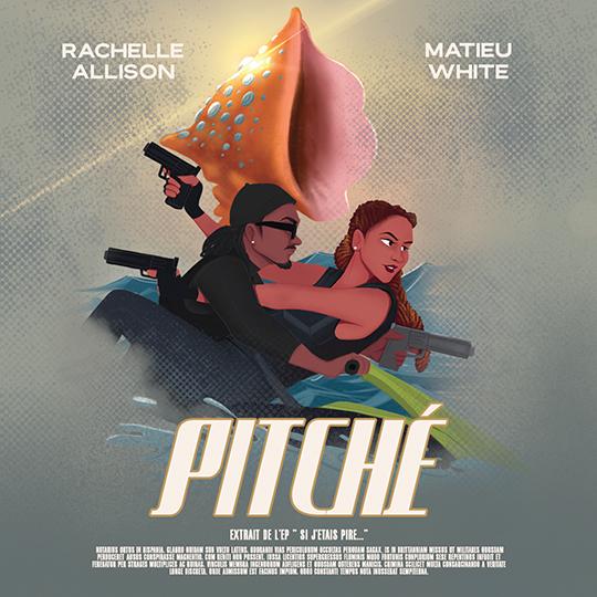 Nouveau Clip Caribéen de 2020 - Rachelle Allison & Matieu White - Pitché